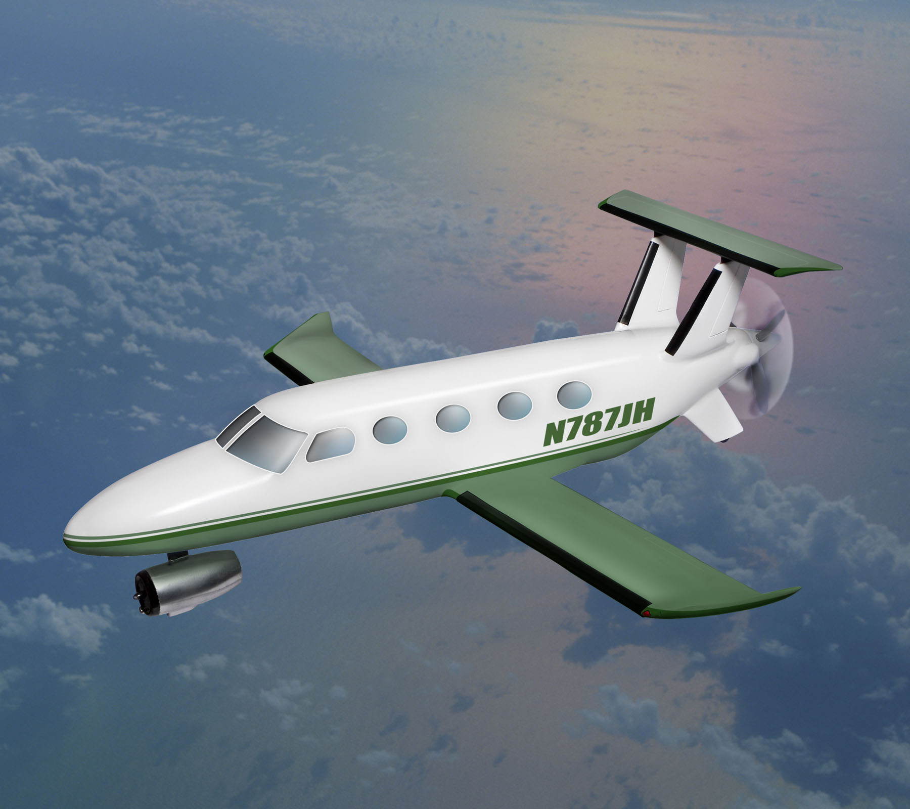 Used Turboprop: Fuel Efficient Innovative Aircraft Design